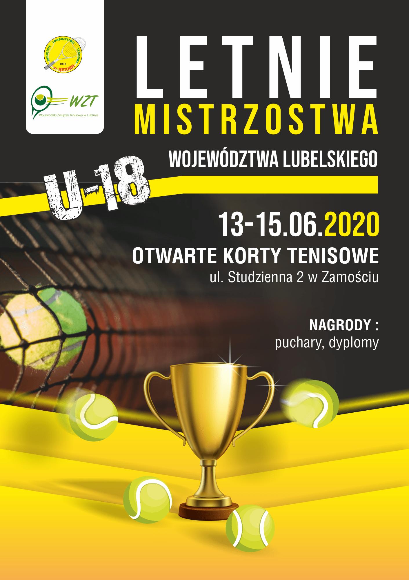 Return Halowe mistrzostwa u18 Klub Tenisowy Return